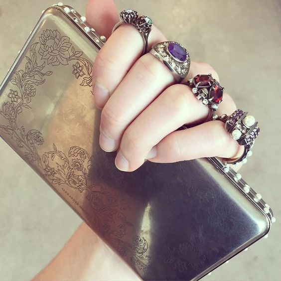 "Minaudière @worldmcqueen #Resort2016 @wmag"" - Photo taken by @wmagnora on Instagram"
