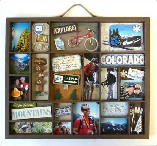 Collect something from each place i stop at or visit then for Best place to get picture frames