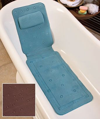 Spa Tub Mat With Pillow Bedazzling Bathtubs And