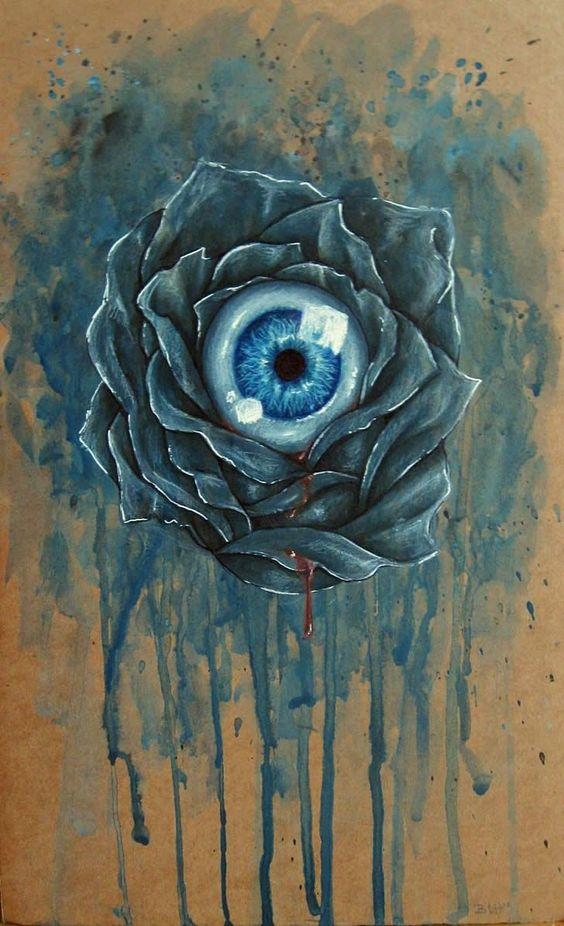 Eyeball in Flower by Benjiiben