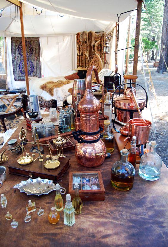 alchemy tent