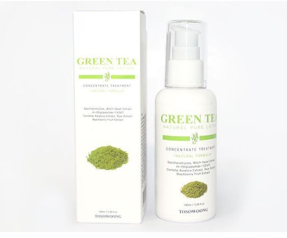 Image result for Tosowoong Green Tea Eco Brightening Essence