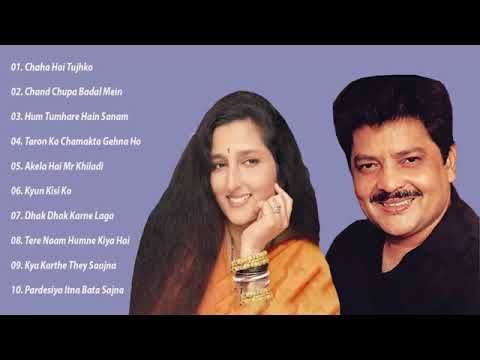 Bollywood Top 10 Songs Anuradha Paudwal Udit Narayan Super Hits Hi Songs 90s Songs Youtube
