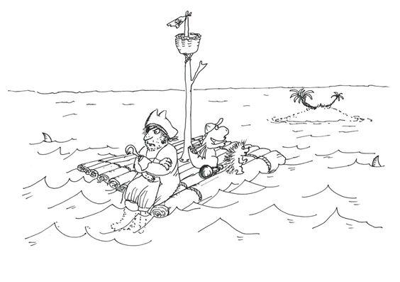2015 08 Der Kleine Drache Kokosnuss Und Die Wilden Piraten Ausmalbild Der Kleine Drache Kokosnuss Drache Kokosnuss Kokosnuss