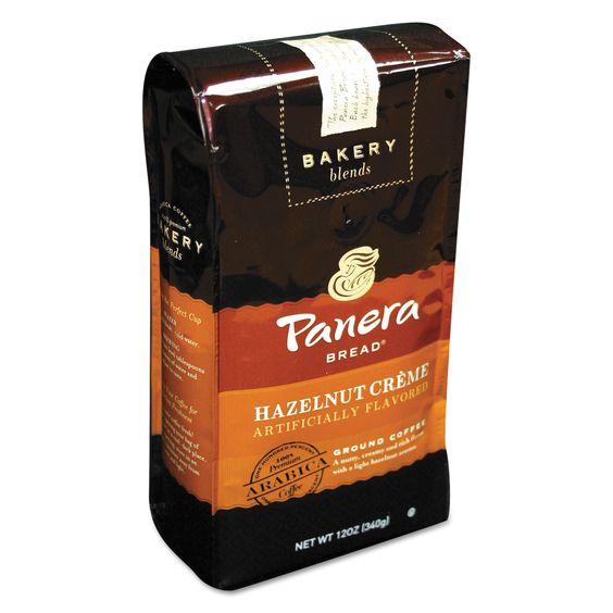 Panera Bread Hazlenut Crème 12 oz Bag Ground
