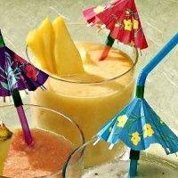 Recept Karnemelk Smoothie Mango. Een magere smoothie die heerlijk zoet en verfrissend is.