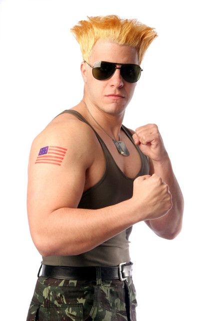 Street Fighter Halloween Costumes ryu costume Cosplay Streetfighter Guile