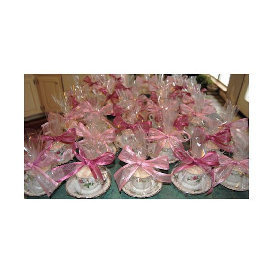 Tea party favors tea cup party wedding baby shower favor for Victorian tea party supplies