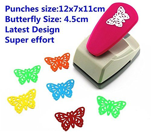 """7,5cm Circle Craft Punch Paper Punch Hand Tool Cutter Puncher 3/"""" Card Punch"""