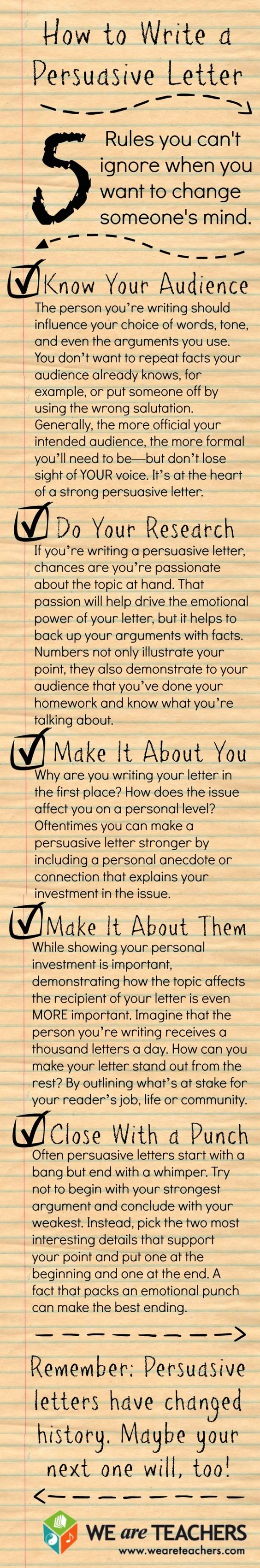 Persuasive essay writing tips