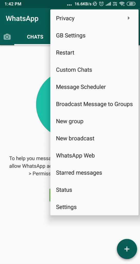 فولفولي تحميل واتس اب جي بي Gbwhatsapp لتحسين منع الحظر Free Message Messages Version