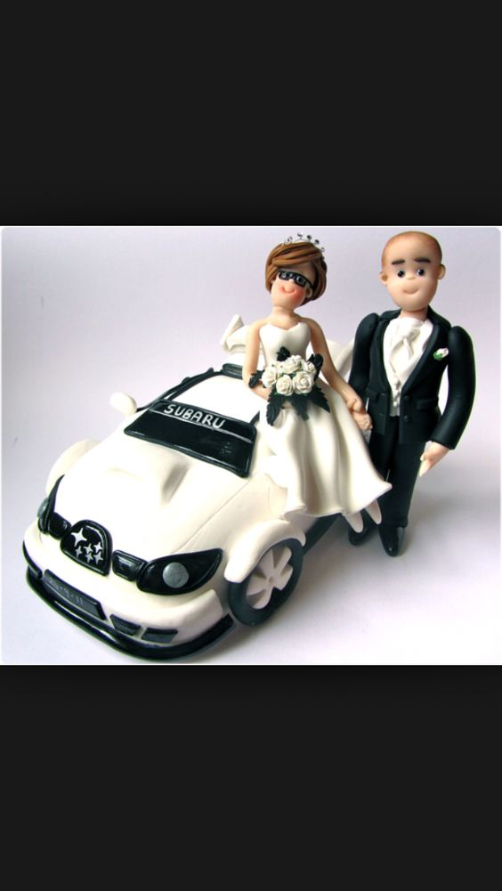 rally car wedding cake topper the world s catalog of ideas 18964