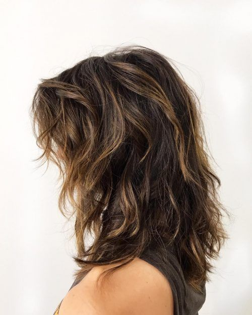 Medium Shag For Thick Hair Thick Hair Styles Haircut For Thick Hair Haircuts For Medium Hair