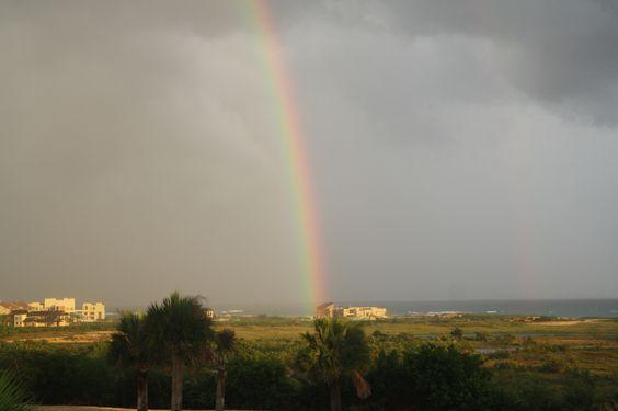 Rainbow in the Dominican Republic...