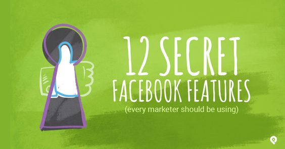 "Tired of getting lost in the Facebook news feed? We can help! Download our ""12 Secret Facebook Features Every Marketer Should Use"" infographic."
