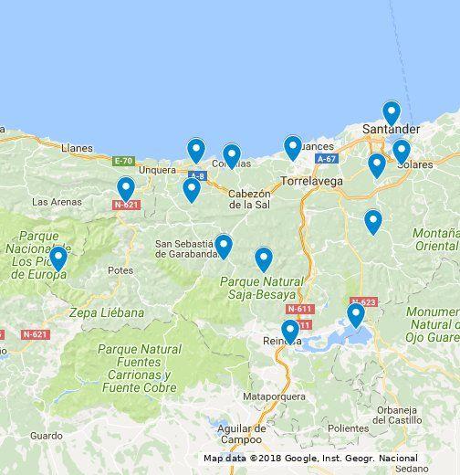 Ruta En Coche Por Cantabria Una Semana Google My Maps Rutas En Coche Viajes En Autocaravana Viajar Por España