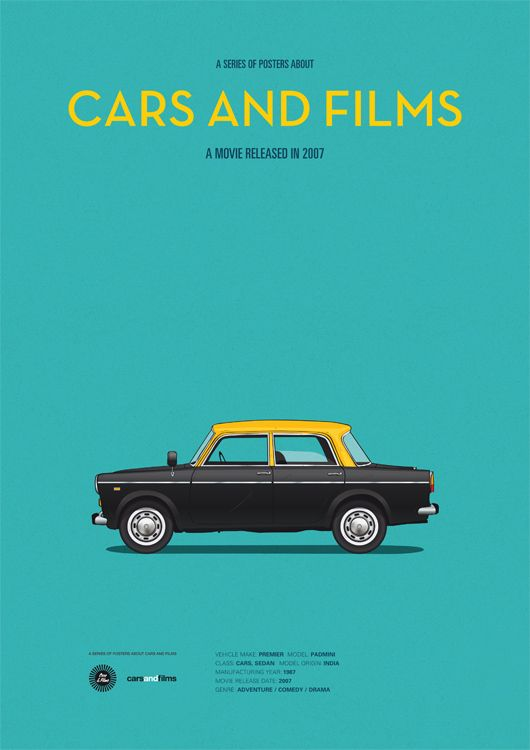 Poster of the car from The Darjeeling Limited
