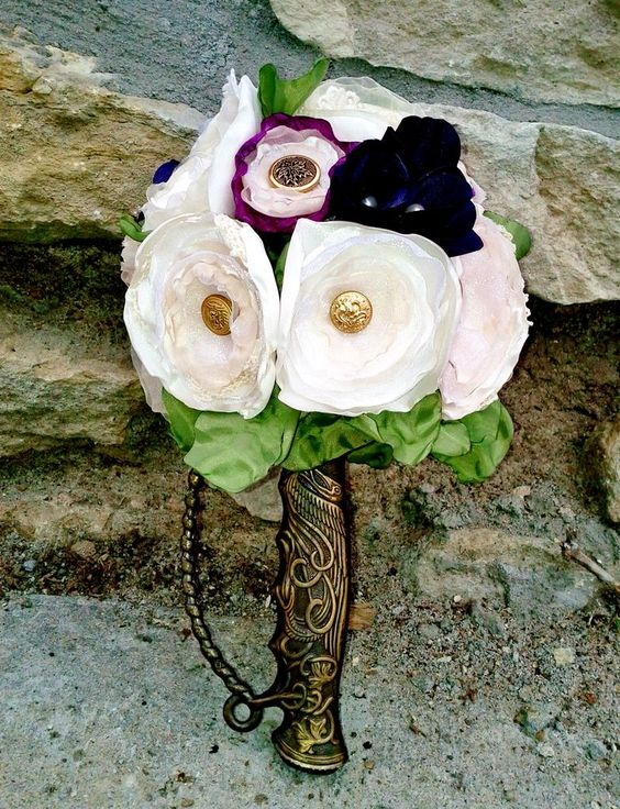 How to make (and wield!) your own sword bouquet