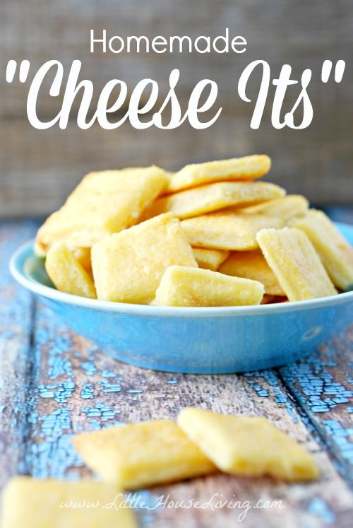 Homemade Cheese-Its | Homemade, Its you and Salts