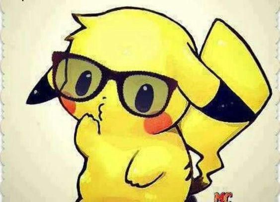 Nerdy Pikachu