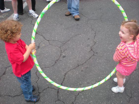 How does hoop dance help kids?
