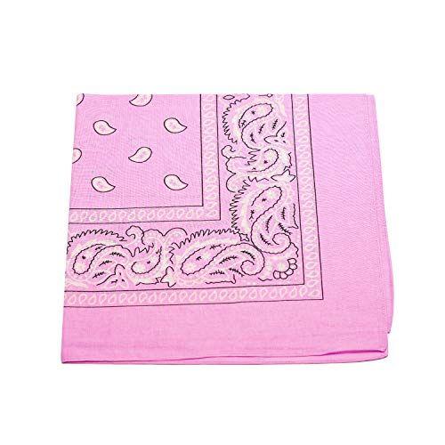 Bandana Tuch rot Paisley 100/% Baumwolle Halstuch rotes Kopftuch Schal