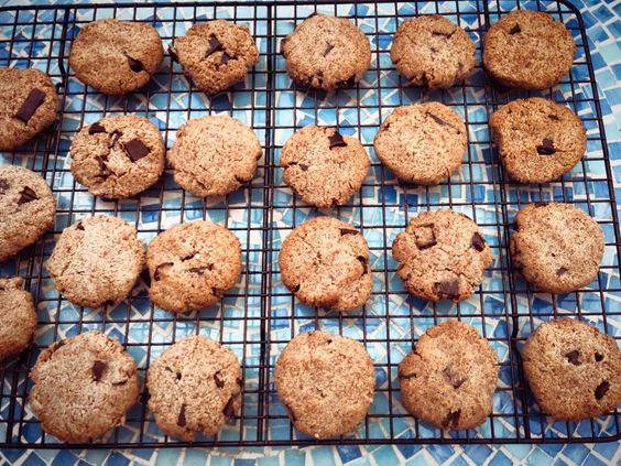 Chocolate chip cookies- yum!