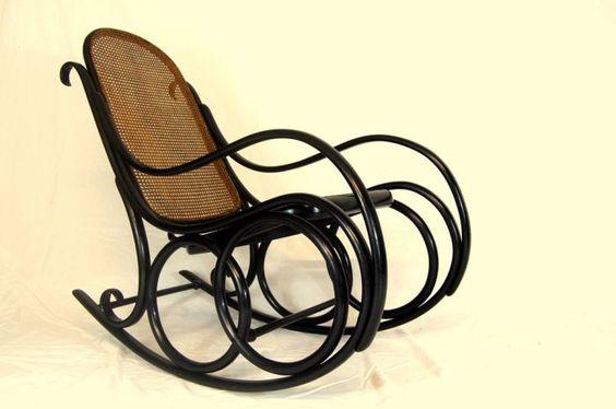 Thonet Rocking Chair - Stock - Antiques Young Guns