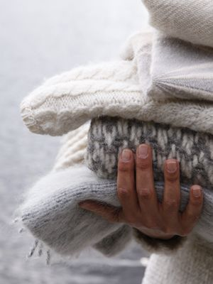 Love keeping the house cooler and then snuggling under some soft and warm blankets... sigh... just wonderful...:
