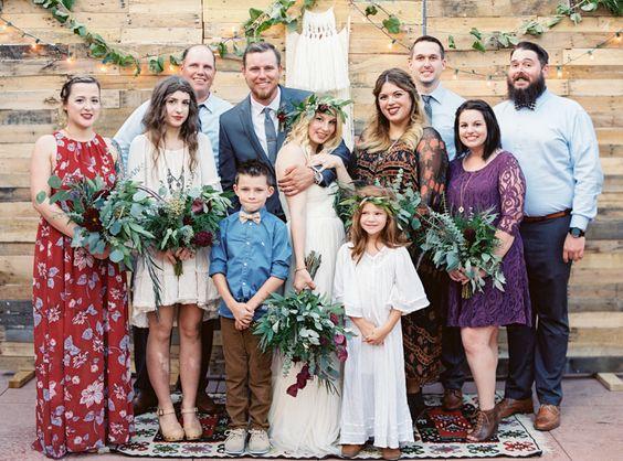 Eine Bohemian Hochzeit in Las Vegas   Friedatheres.com