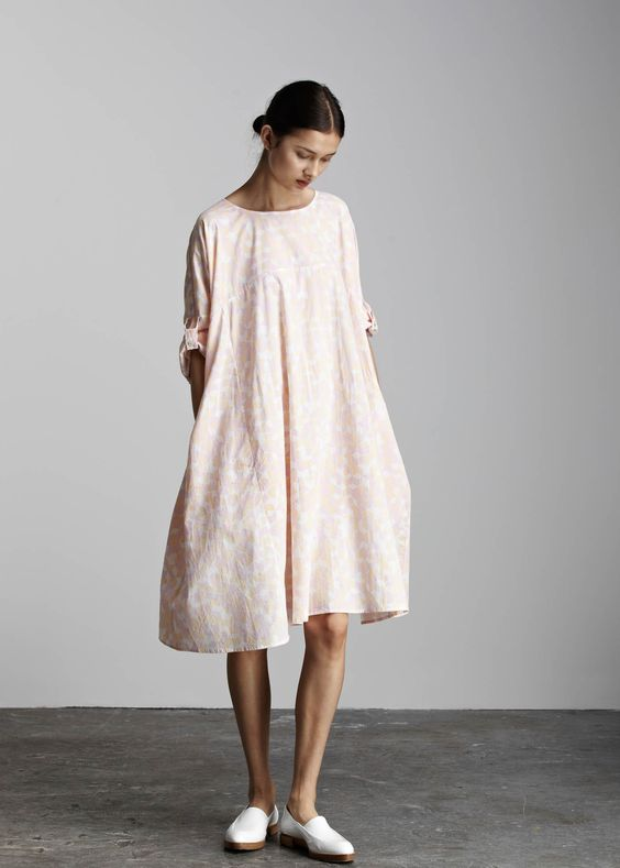 kowtow - 100% certified fair trade organic cotton clothing - Solid Light Dress: