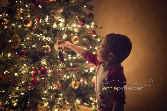 boy christmas joy tree lights high iso mark iii