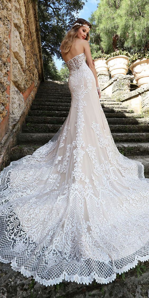 Fantasy Wedding Dresses From Top Europe Designers