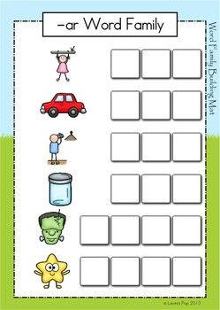 ar word family unit games activities worksheets word families the o 39 jays and words. Black Bedroom Furniture Sets. Home Design Ideas