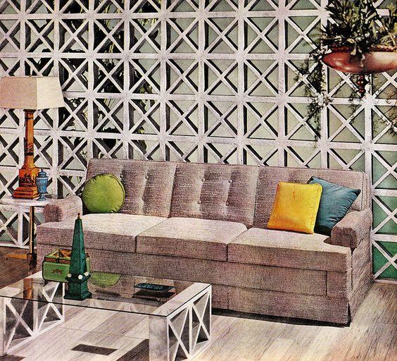 The Grey Room Better Homes Gardens October 1960