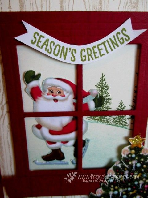 Stamp & Scrap with Frenchie: Home for Christmas scenes Window