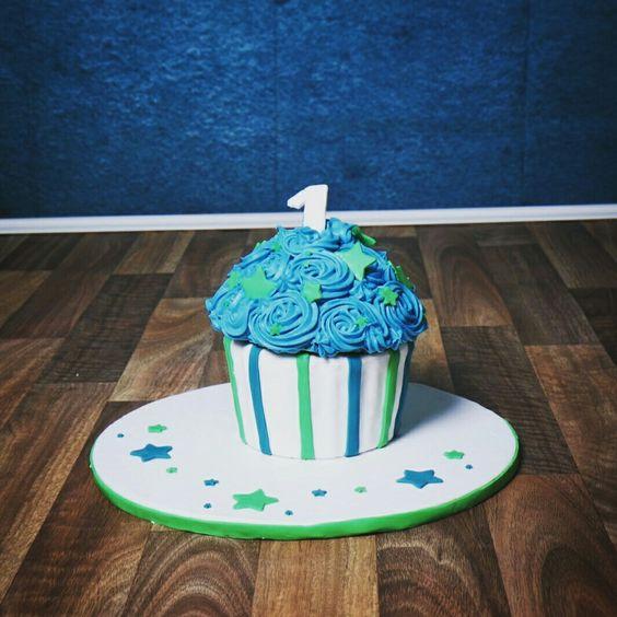 Giant cupcake  smash cake