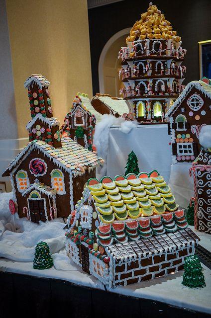 Gingerbread village....proyecto para esta navidad....!!!!!!