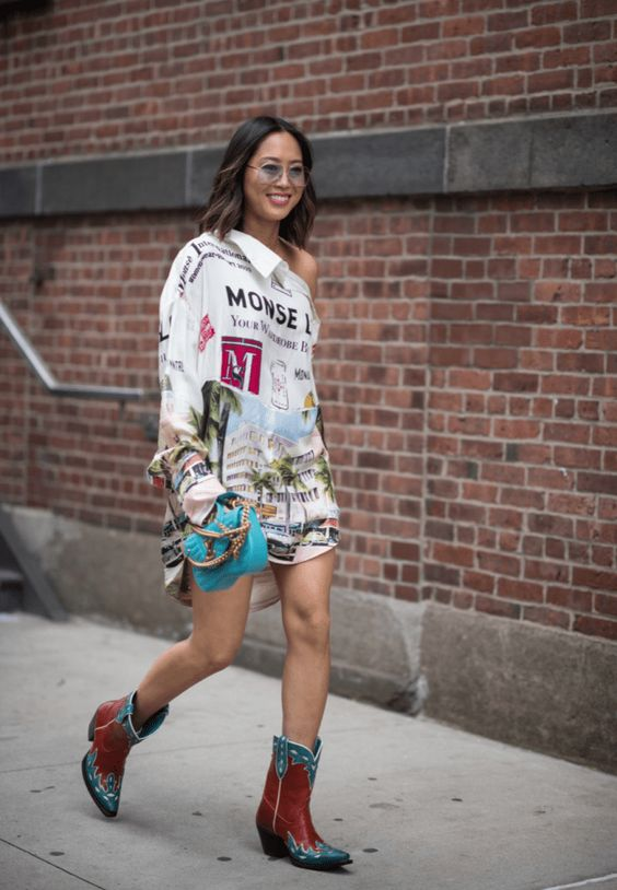 New York fashion week, 2018, fall style, fall outfits, street style, trends, fall trends, 2018, cowboy boots, polka dots, monochromatic, plaid, animal print, style, outfit, how to wear, inspiration, the nomis niche, fashion blogger, Lindsey Simon, nyfw, boots, jackets, sweaters, edgy, feminine, funky, trendyfall/winter, f/w2018, nyfw s/s 2019