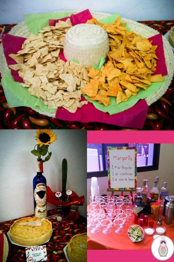 comidas e decoração