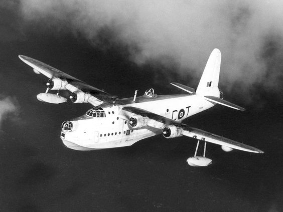 Short sunderland flying boat. you can walk in one in RAF museum in London