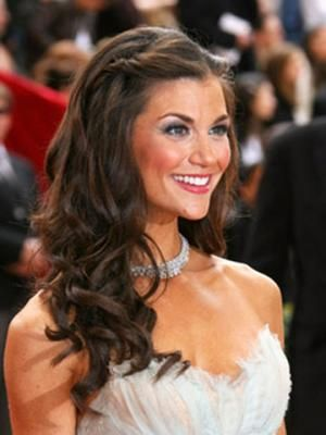 Swell Half Up Hairstyle For Long Hair And Receptions On Pinterest Short Hairstyles Gunalazisus