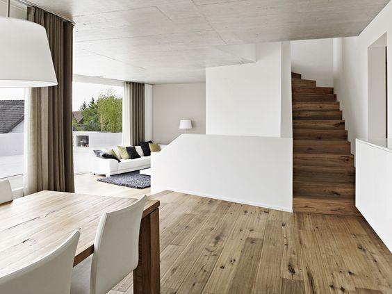 Einfamilienhaus bei Zürich von Buehrer Wuest / Im Wohndorf - Architektur und Architekten - News / Meldungen / Nachrichten - BauNetz.de