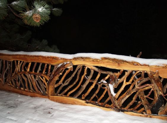 Rustic Mountian Stair Railings: Pinterest • The World's Catalog Of Ideas