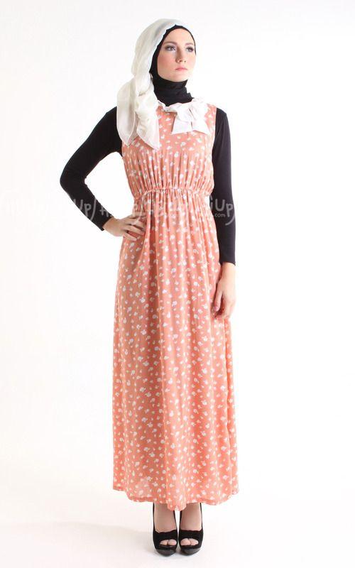 Bow dress sleeveless