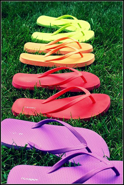 Keep flip flops to wear between parties if you're not wearing comfortable shoes.