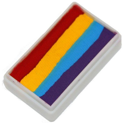 Tag Face Paint 1stroke Split Cake 4 Color Rainbow 30g Click Image To Review More Details Th Tag Face Paint Professional Face Paint Face Painting Colours