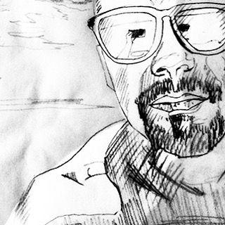 #dibujo #zgz #workinprogress #selfie #draw #inkwell #detalle  Más información pronto.