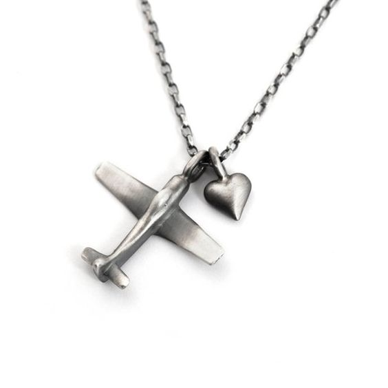 Daesar 925 Sterling Silver Necklace for Men Necklace Pendant Punk Silver Necklace Twist Black Necklace Chain