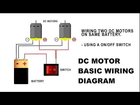 How To Wire A Dc Motor On Battery With Switch And Relay Youtube In 2021 Electrical Symbols Wire Switch Switch
